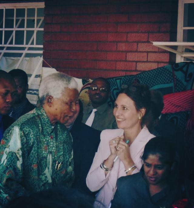 Mom and Madiba