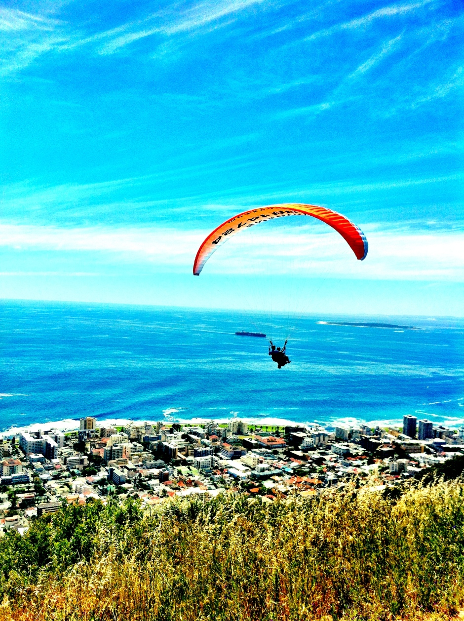 Paragliding in Cape Town, South Africa