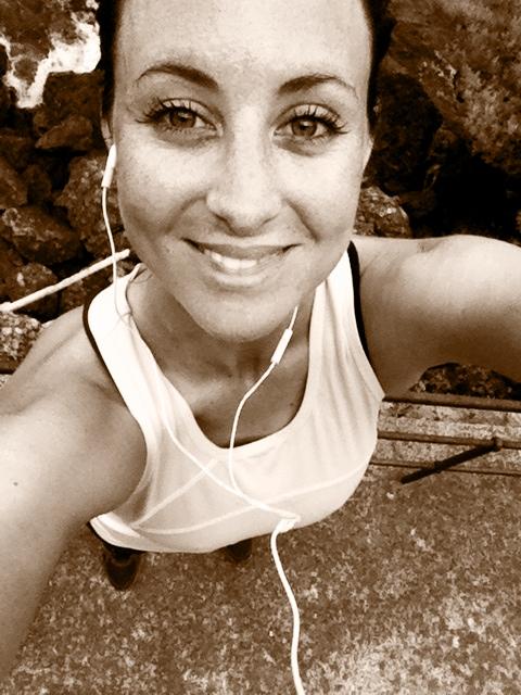 Running in Portofino, Italy