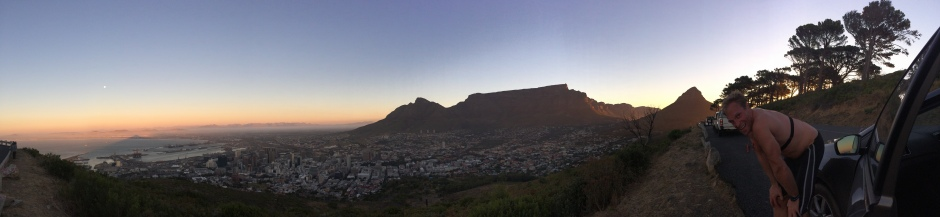 A run on Lion's Head in Cape Town