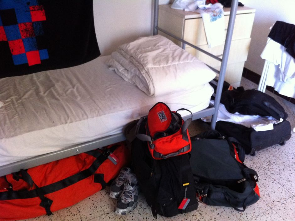 Crew house living: Away from home comforts