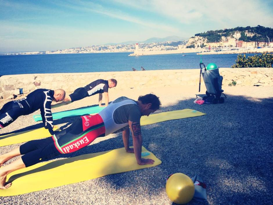 CREW Pilates for cyclists