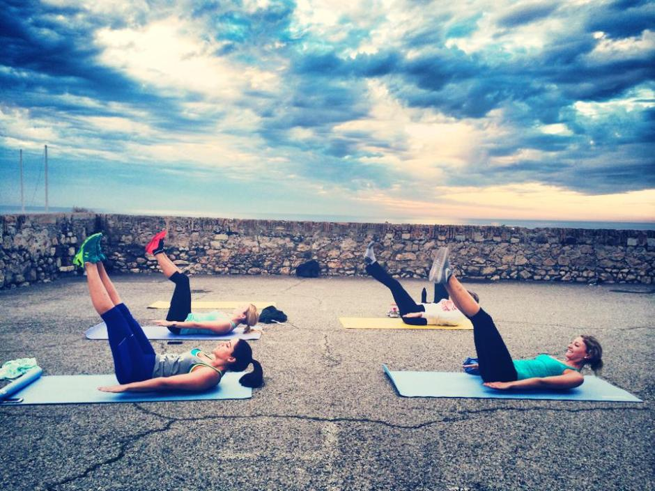 CREW Pilates offers outdoor and on board training for super yacht crew