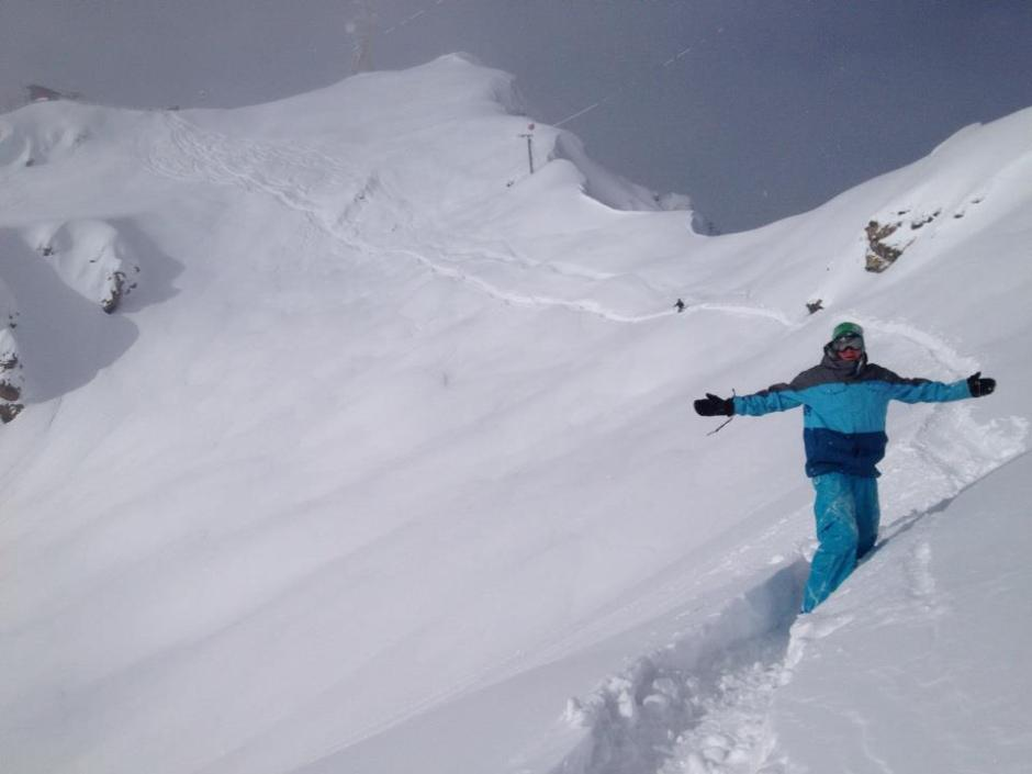 From surf to snow: Shevy on the slopes in Kitzbuhel, Austria