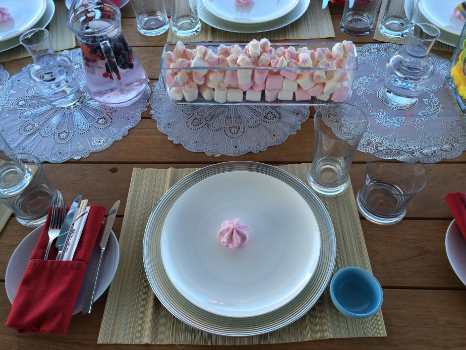 Table setting once upon a time