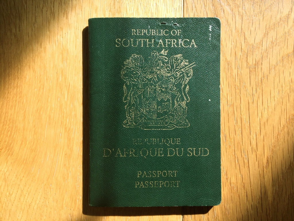 The South African Passport: Aptly Nicknamed